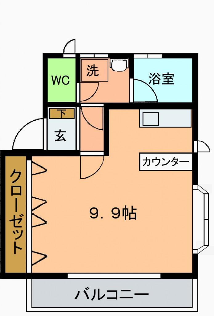 グレース七隈B図面