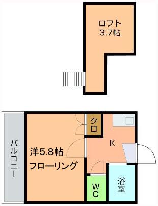 井村コーポ図面
