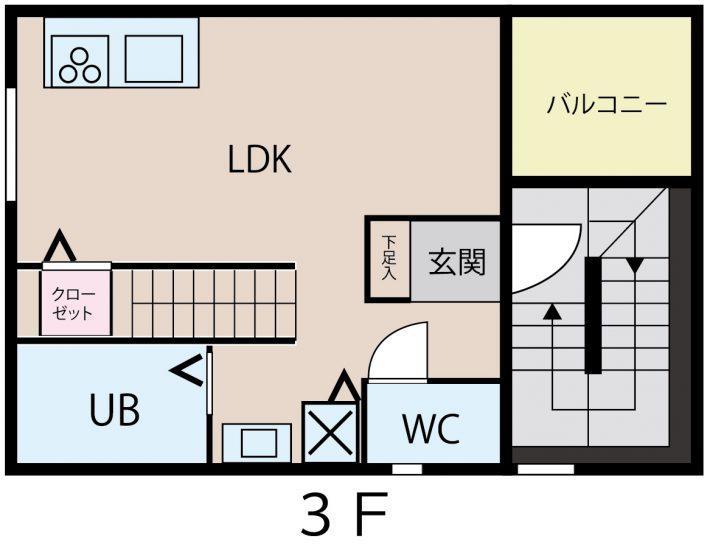 ル・レーブ間取り図1